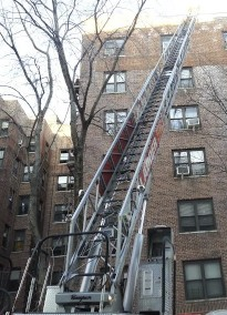 FDNY crews reached the seventh floor, where the fire was extinguished.