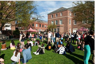 Above, students enjoying SpringFest 2013. Photo courtesy of Creative Commons Flickr.