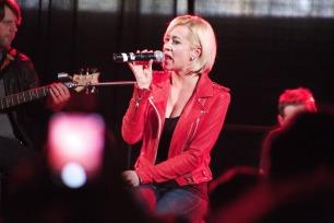Kellie Pickler performed last on the Jasper Days concert set. Photo by James O'Connor.