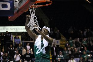 George Beamon was named MVP of the MAAC tournament. Photo by Daniel Ynfante.