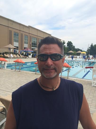 In his free time, professor Bob Coleman of the Communication Department enjoys swimming and hanging out by the pool. Photo Courtesy of Bob Coleman.