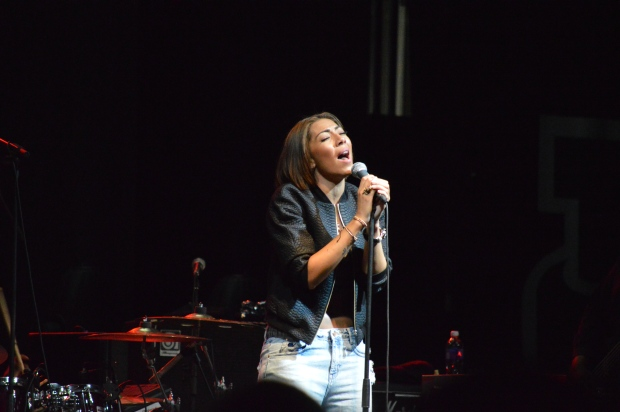 Opening act Bridget Kelly. Photo by Kevin Fuhrmann