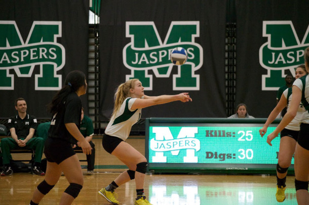 The Jaspers will be without 2014 MAAC Player of the Year Malia McGuinness, who graduated.  Photo by Kevin Fuhrmann.