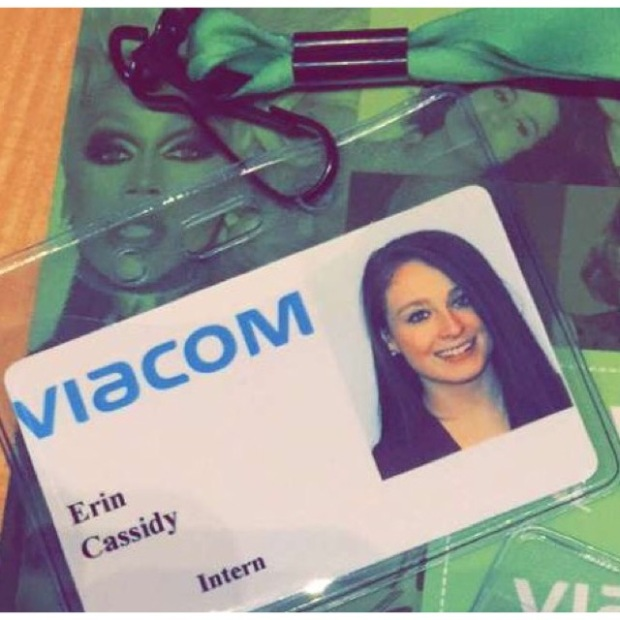Erin Cassidy is interning at Nickelodeon this semester. Erin Cassidy/Courtesy