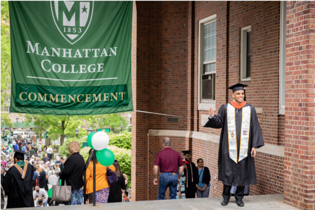 Image result for manhattan college commencement
